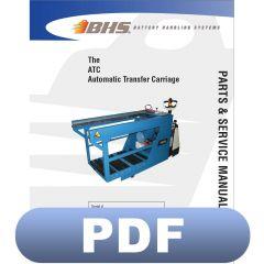 ATC Automatic Transfer Carriage Parts & Service Manual