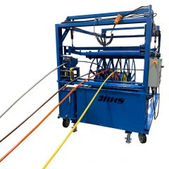 Fill cable, wire, and flexible materials directly onto delivery reels without laborious extra steps.