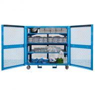 """PPE Storage Cart, 61""""W x 30""""D x 50""""H (5,000 lb)"""