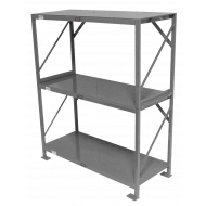 "Industrial Shelf, 36"" Three Tier"