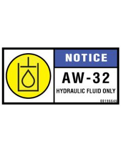 Notice/AW-32 Only Label
