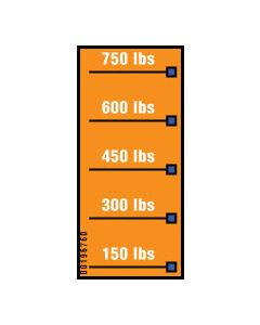 Capacity Scale Label