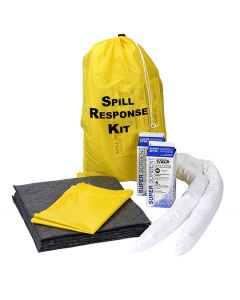 Oil Selective Vehicle Spill Kit in a Tote Bag
