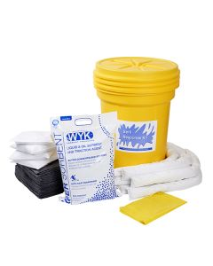 Universal Spill Kit in 30 gallon drum