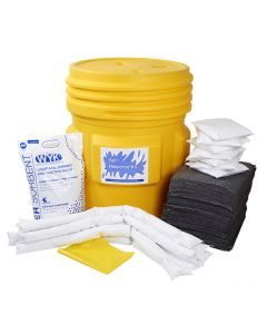 Universal Spill Kit in a 65 Gallon Drum