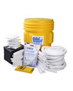 Universal Spill Kit in a 95 Gallon Drum