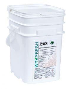 WYK Fresh Wintergreen Scented Deodorizer Sorbent - 5.3 Gal Pail