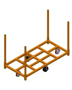 Flat Stacking Carts