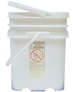 Safety Sorbent, 25 lbs in 5 Gallon Tear Top Pail