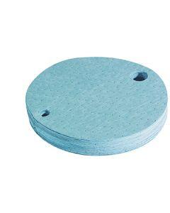 Oil Selective Fine Fiber Drum Top Pads, Case of 25 pads