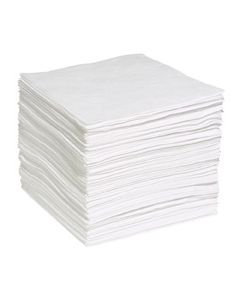 "Meltblown Sorbent Pads 19"" x 15"", Package of 200"