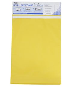 Tear Off Tablet of Yellow Disposable Bags - Includes 12 Bags