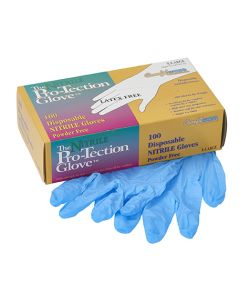 Nitrile Chemical Gloves - 5 mil. - 1 Pair