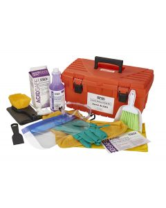 AcidSafe Tool Box Battery Cleaning and Maintenance Kit
