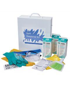Universal Neutralizing Spill Kit Wall Cabinet