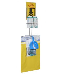 Universal Neutralizing Spill Kit Wall Mount