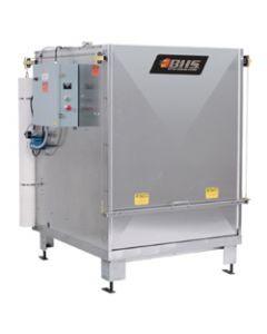 Battery Wash Cabinet, Manual Door & Gravity Feed Rollers