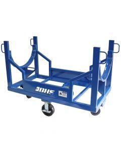 Conduit Carrier Cart, 3,000 lb Capacity