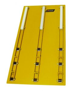 Compartment Roller Tray, Low Profile Plate Mount 34x38