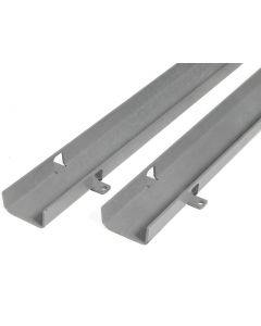 "Guide Track, Dual Channel - 4"" (102 mm)"