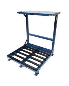 Forklift Battery Roller System Stand
