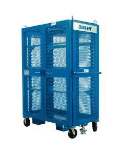"Double Door High Value Cart, 48""W x 28""D x 60""H (5,000 lb)"