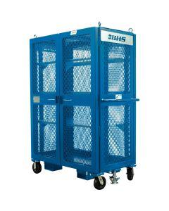 "Double Door High Value Cart, 48""W x 28""D x 70""H (5,000 lb)"