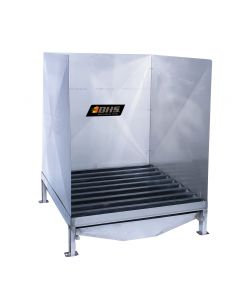 Stainless Steel Hardwood Wash Station for Forklift Batteries