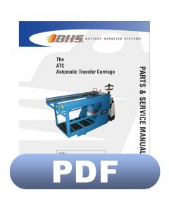 ATC Automatic Transfer Carriage Parts & Service Manual