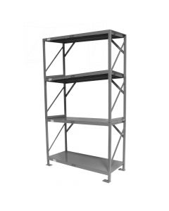 "Industrial Shelf, 84"" Four Tier"