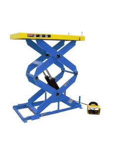 Dual Scissor Lift Table, 2,500 lb capacity