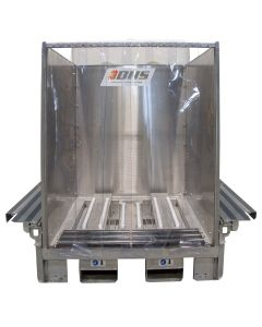 Stainless Steel Mobile Wash Station with Water Tanks