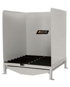 Roller Wash Station, Stainless Steel
