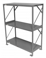 "Industrial Shelf, 84"" Three Tier"