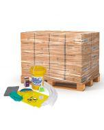 Spill Kit, 6.5 Gallon, Skid Load