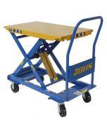 Self-Leveling Mobile Lift Table, 450 lb capacity