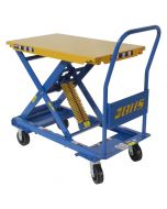 Self-Leveling Mobile Lift Table, 250 lb capacity