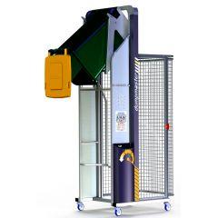 DMA2100-B Hydraulic Bin Tipper