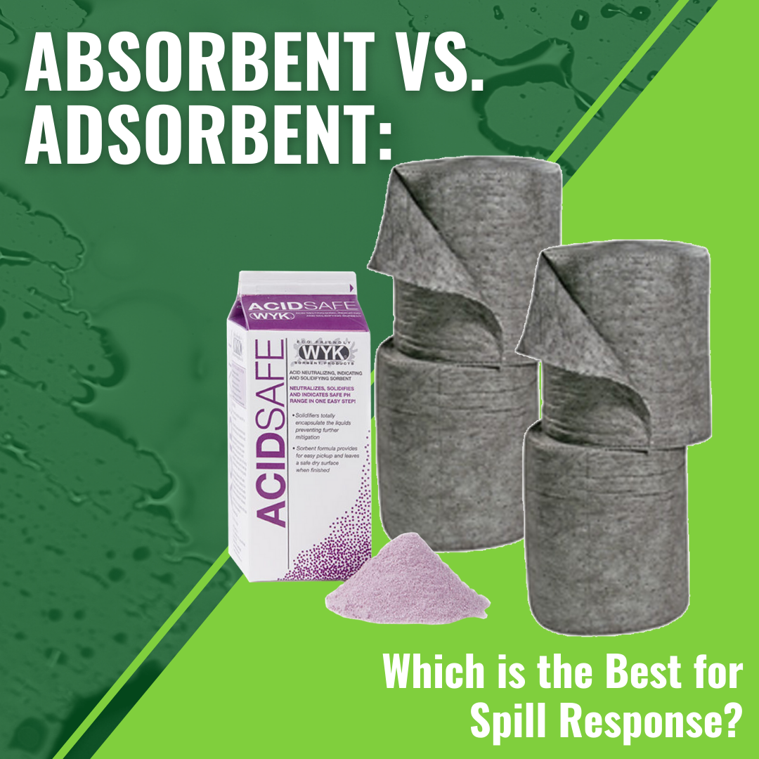 Absorbent vs. Adsorbent: Which is the Best for Spill Response?