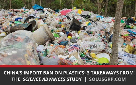 3 Takeaways from a study on China's Import Ban on Plastics