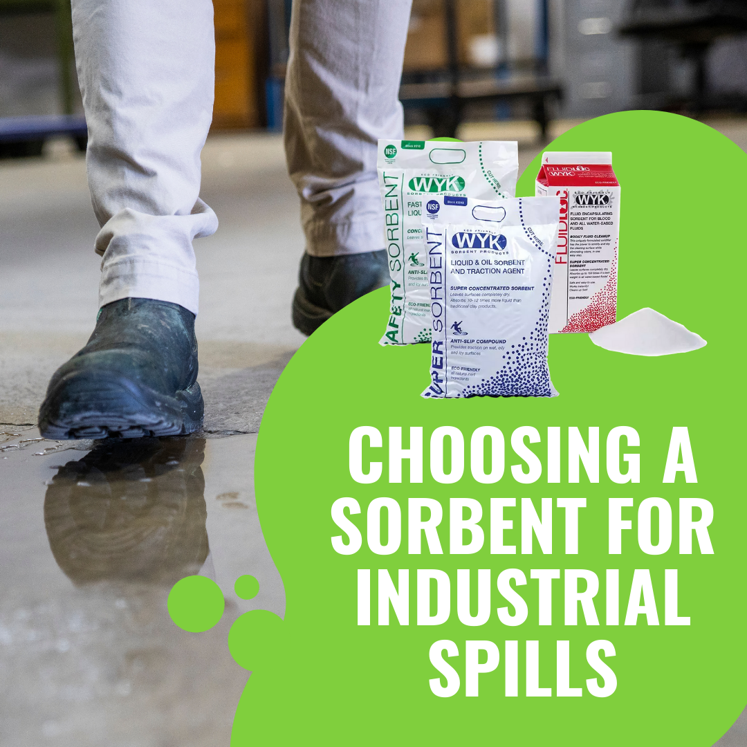 Choosing a Sorbent for Industrial Spills