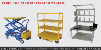 Design Packing Stations to Conserve Space