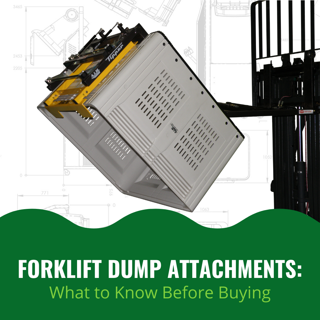 Forklift Dump Attachments: What to Know Before Buying