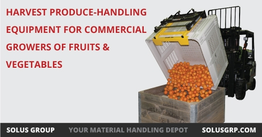 Harvest Produce-Handling Equipment for Commercial Growers of Fruits and Vegetables