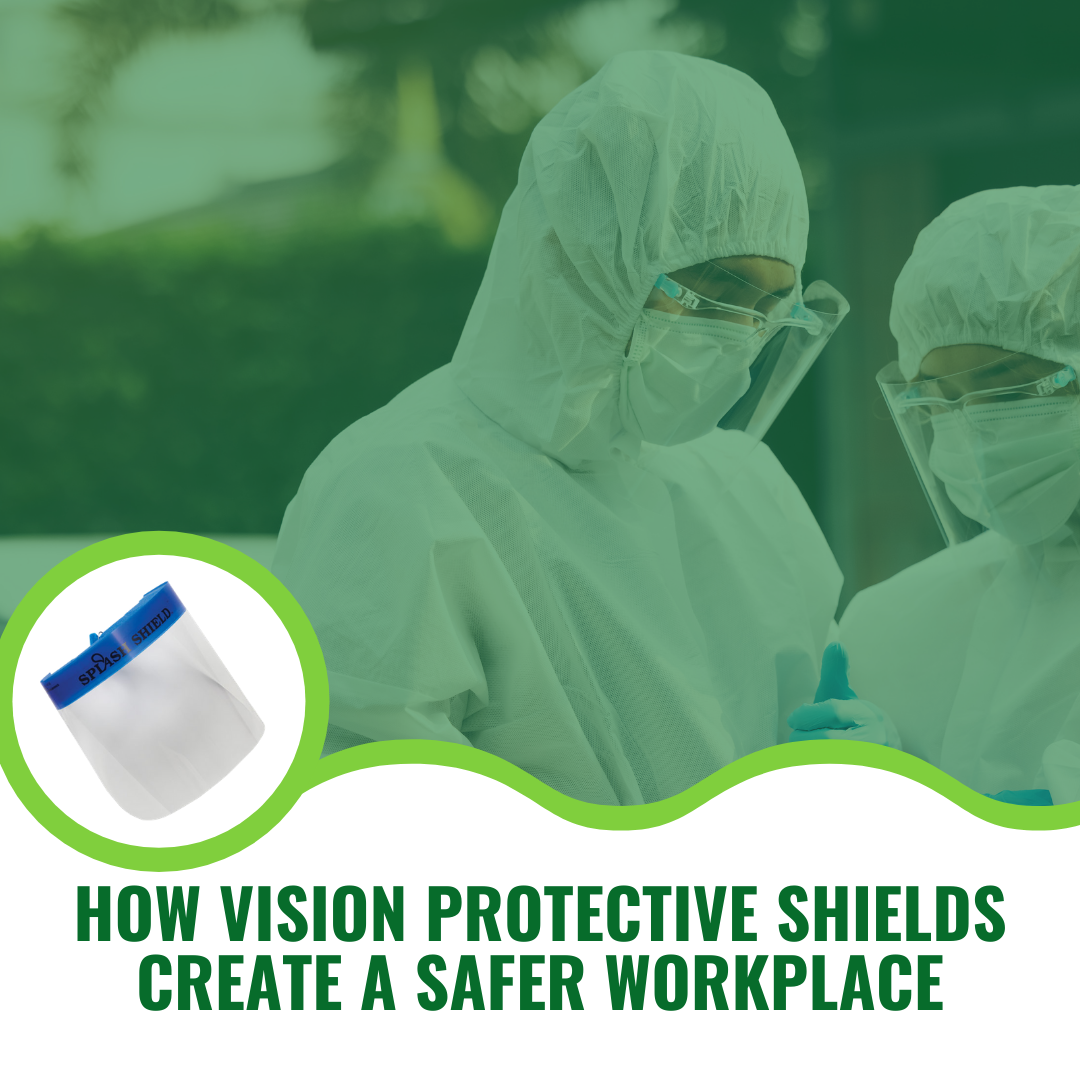 How Vision Protective Shields Create a Safer Workplace