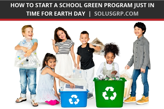 School green programs get students involved in recycling and composting.