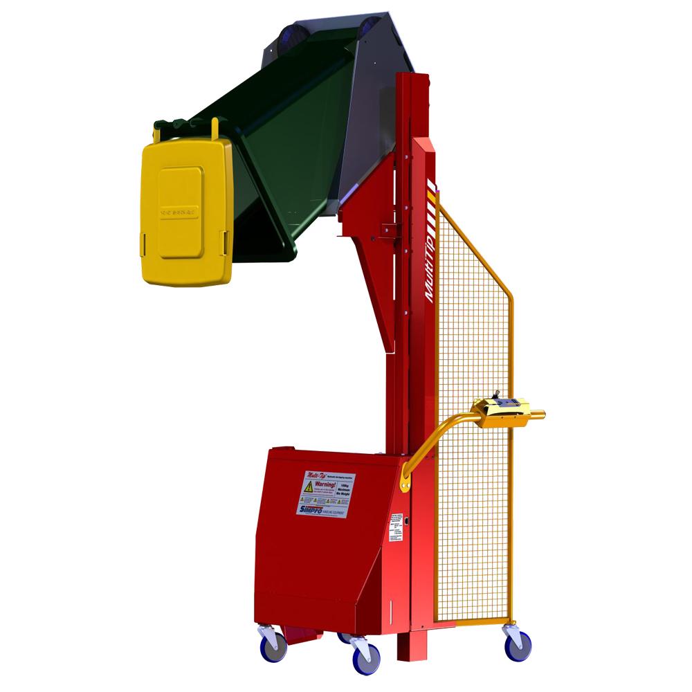 Multi-Tip Hydraulic Bin Tipper