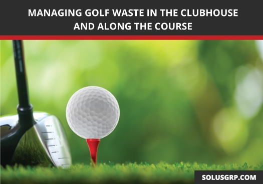 Bin Tippers can help manage golf waste in the clubhouse as well as along the course.