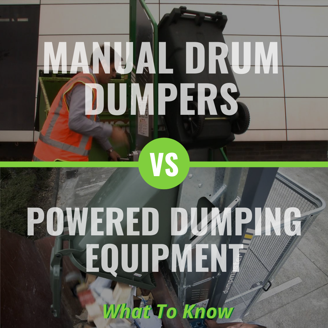 Manual Drum Dumpers vs. Powered Dumping Equipment: What To Know