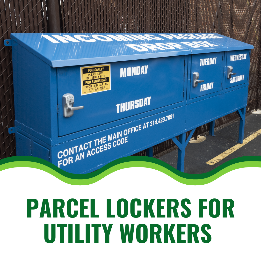 Parcel Lockers for Utility Workers